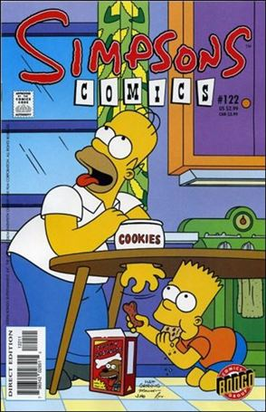 Simpsons Comics 122-A