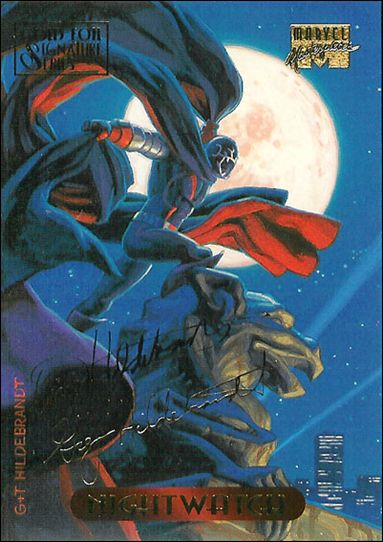 1994 Marvel Masterpieces (Gold-Foil Signature Parallel Base Set) 85-A by Fleer