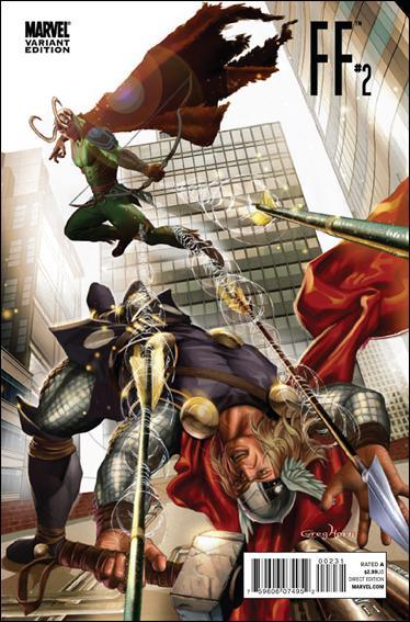 FF (2011) 2-B by Marvel