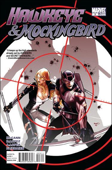 Hawkeye & Mockingbird 3-A by Marvel