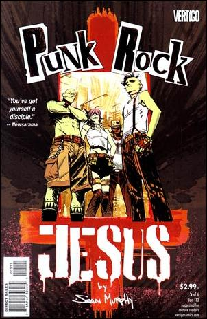 Punk Rock Jesus 5-A by Vertigo