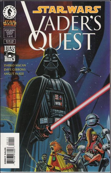 Star Wars: Vader's Quest 1-A by Dark Horse