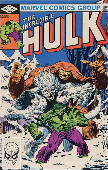Incredible Hulk (1968) 272-A by Marvel