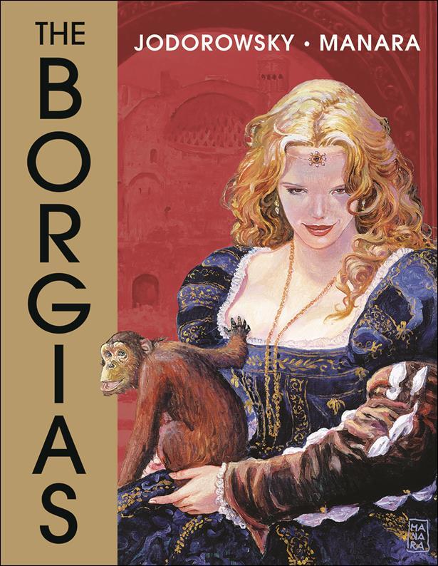 Borgias 1-A by Dark Horse