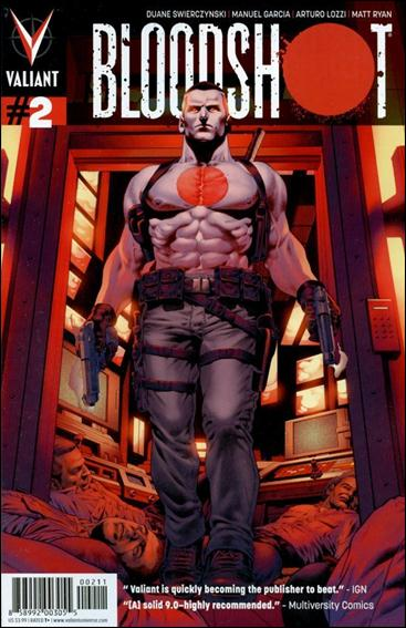 Bloodshot (2012) 2-A by Valiant Entertainment