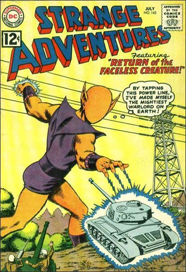 Strange Adventures (1950) 142-A by DC