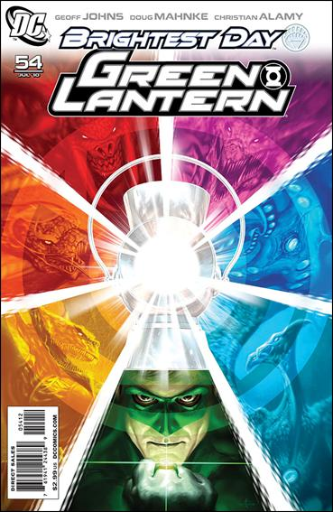 Green Lantern (2005) 54-B by DC