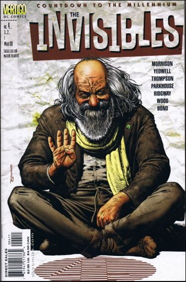 Invisibles (1999) 4-A by Vertigo