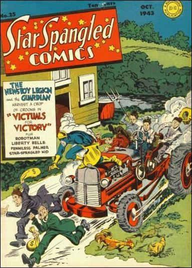 Star Spangled Comics (1941) 25-A by DC