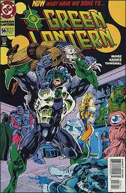 Green Lantern (1990) 56-A by DC