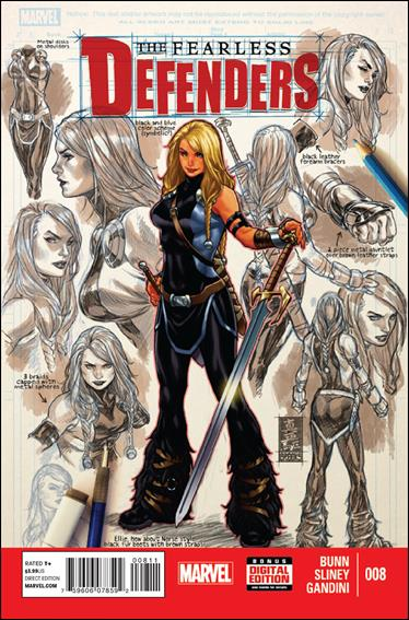 Fearless Defenders 8-A by Marvel