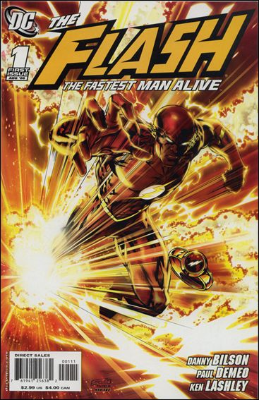 Flash: The Fastest Man Alive 1-A by DC