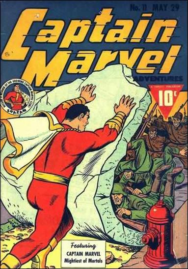 Captain Marvel Adventures 11-A by Fawcett