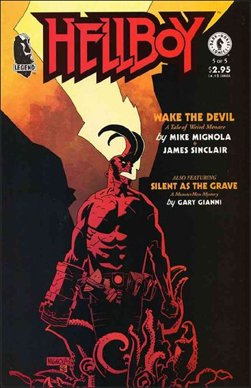 Hellboy: Wake the Devil 5-A by Dark Horse