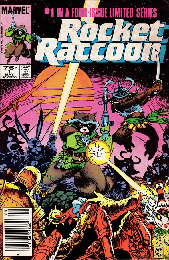 Rocket Raccoon (1985) 1-A by Marvel