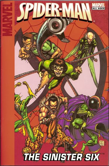 Target Spider-Man: The Sinister Six 1-A by Marvel