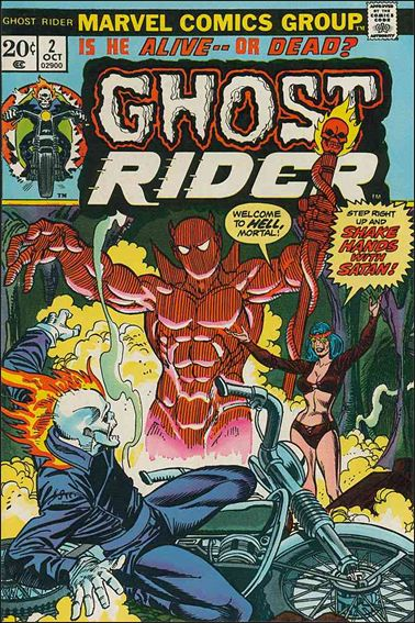 Ghost Rider (1973) 2-A by Marvel