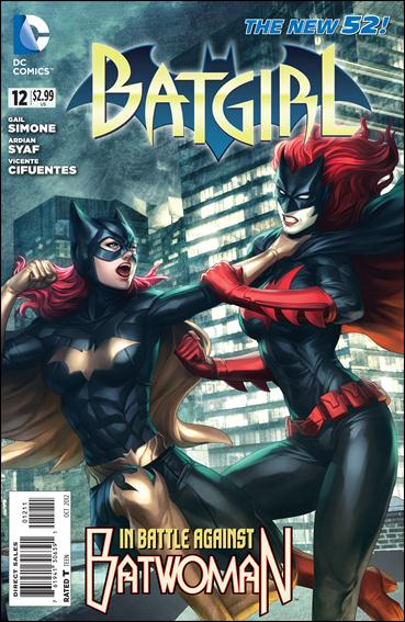 Batgirl (2011) 12-A by DC