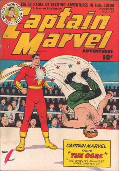 Captain Marvel Adventures 114-A by Fawcett