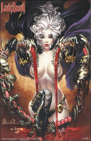 Lady Death (1997) 0-CW by Chaos! Comics