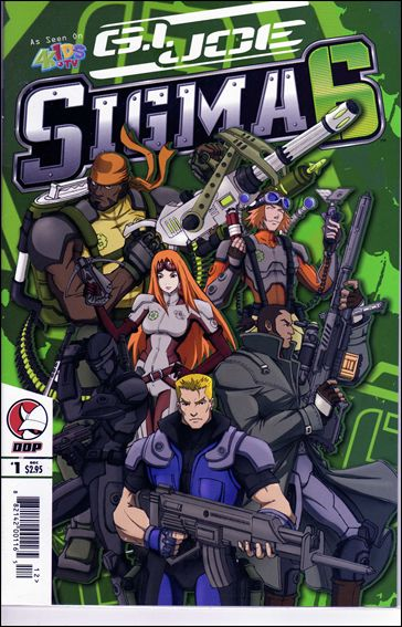 G.I. Joe: Sigma 6 1-A by Devil's Due
