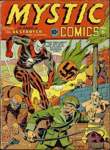 Mystic Comics (1940) 6-A by Timely