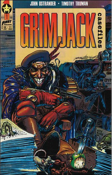 Grimjack Casefiles 1-A by First