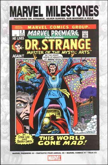 Marvel Milestones: Dr. Strange, Silver Surfer, Sub-Mariner, & Hulk nn-A by Marvel