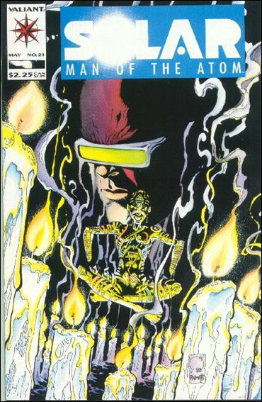 Solar, Man of the Atom (1991) 21-A by Valiant