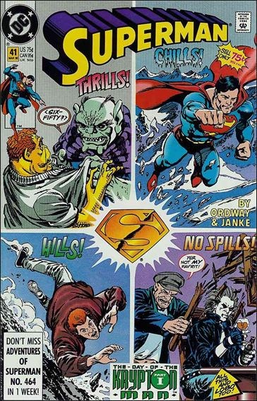 Superman (1987) 41-A by DC