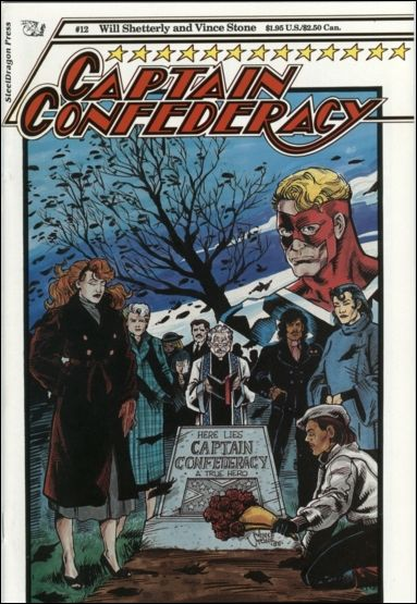 Captain Confederacy (1986) 12-A by SteelDragon Press