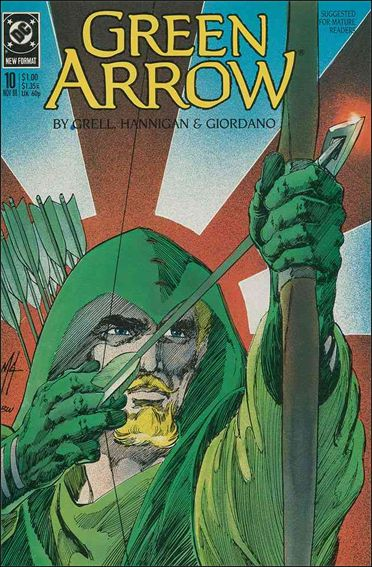 Green Arrow (1988) 10-A by DC