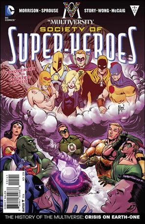 Multiversity: The Society of Super-Heroes: Conquerors of the Counter-World 1-D