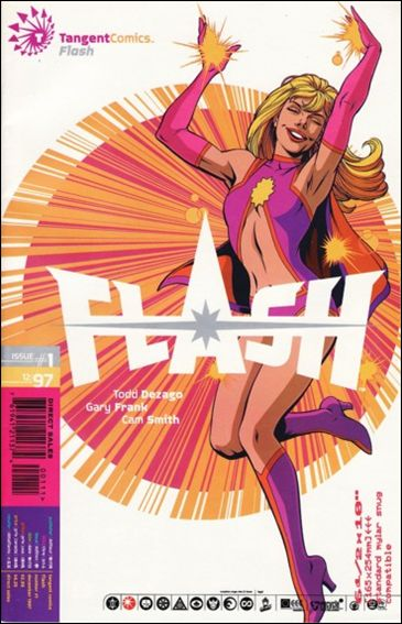Tangent Comics/The Flash 1-A by DC