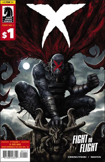 X (2013) 1-C by Dark Horse
