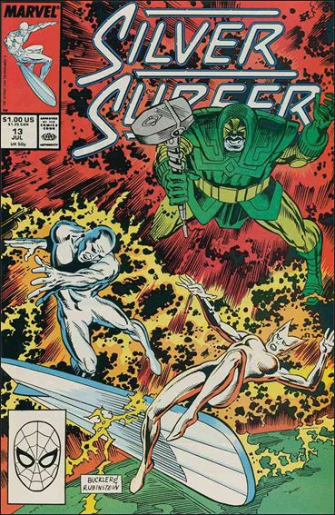 Silver Surfer (1987) 13-A by Marvel