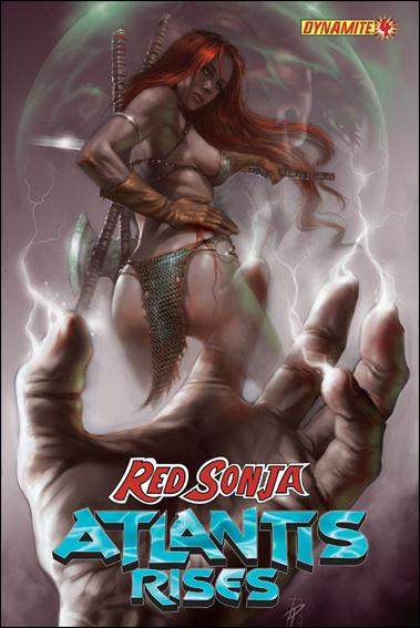 Red Sonja: Atlantis Rises 4-A by Dynamite Entertainment