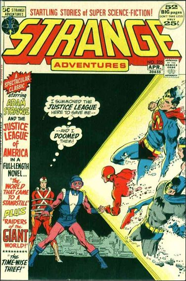 Strange Adventures (1950) 235-A by DC