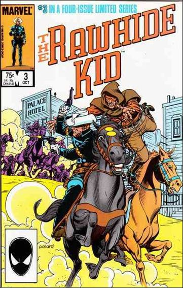 Rawhide Kid (1985) 3-A by Marvel