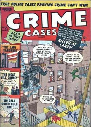 Crime Cases Comics '25'-A