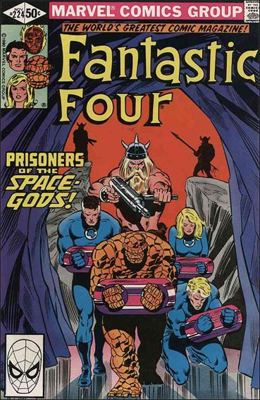 Fantastic Four (1961) 224-A by Marvel