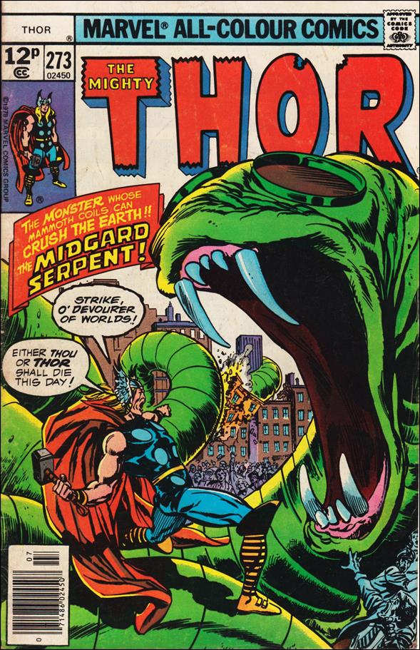 Thor (1966) 273-B by Marvel