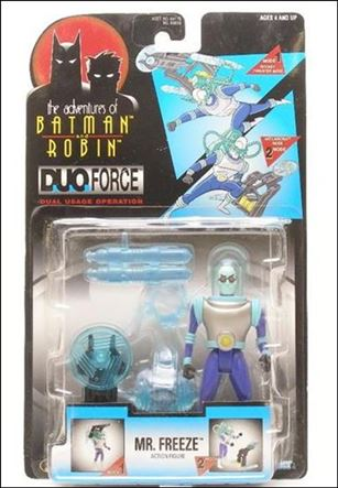 Adventures of Batman and Robin: Duo Force Mr. Freeze