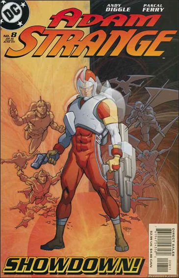 Adam Strange (2004) 8-A by DC