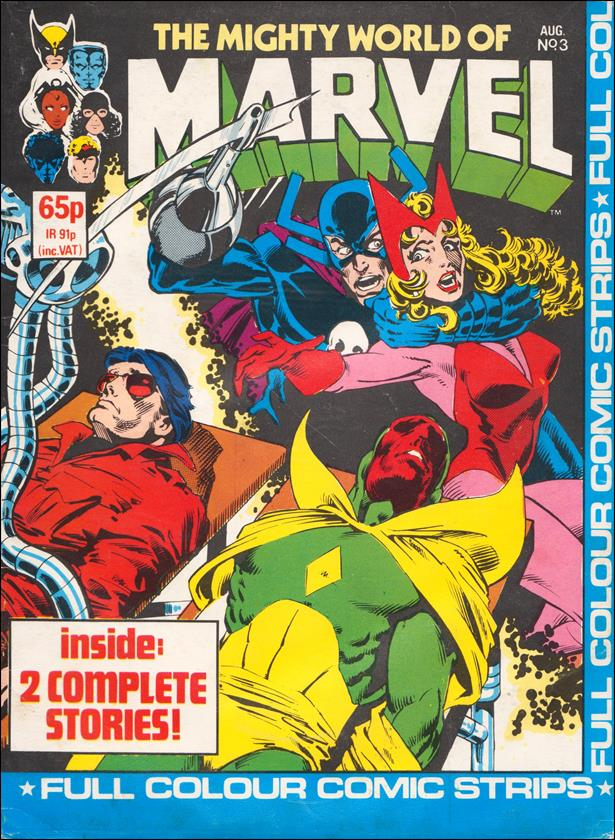 Mighty World of Marvel (UK) (1983) 3-A by Marvel UK