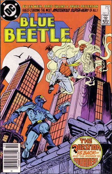 Blue Beetle (1986) 5-A by DC