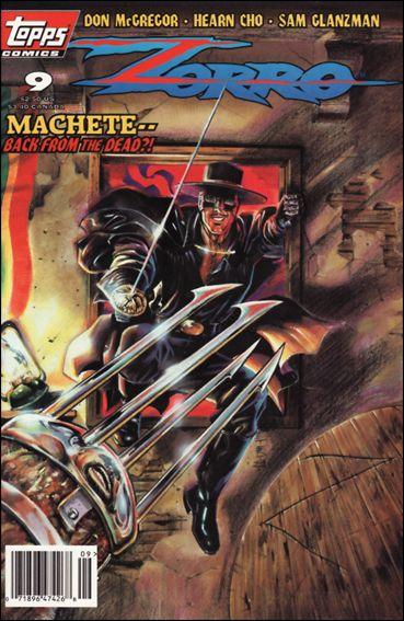 Zorro (1993) 9-A by Topps