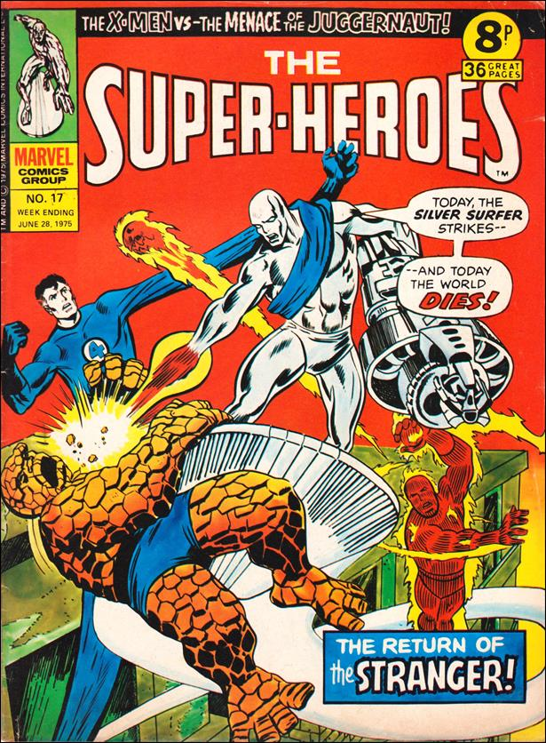 Super-Heroes (UK) 17-A by Marvel UK