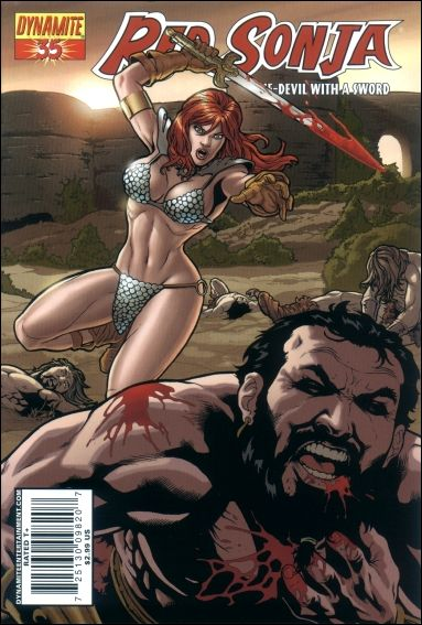 Red Sonja 35-C by Dynamite Entertainment