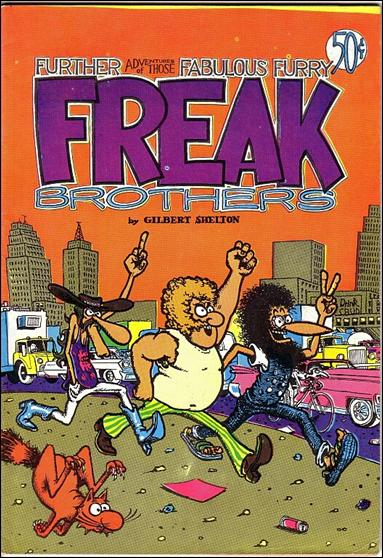 Fabulous Furry Freak Brothers 2-D by Rip Off Press